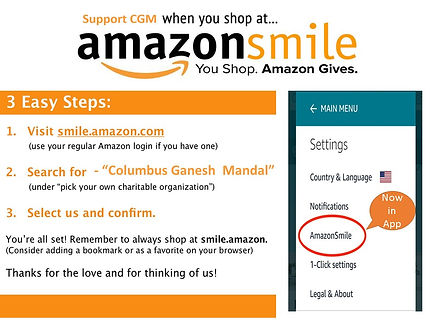 Amazon smile flyer.JPG