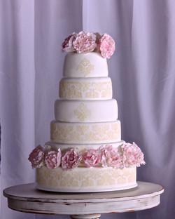 Torta de Bodas Araceli Gonzalez