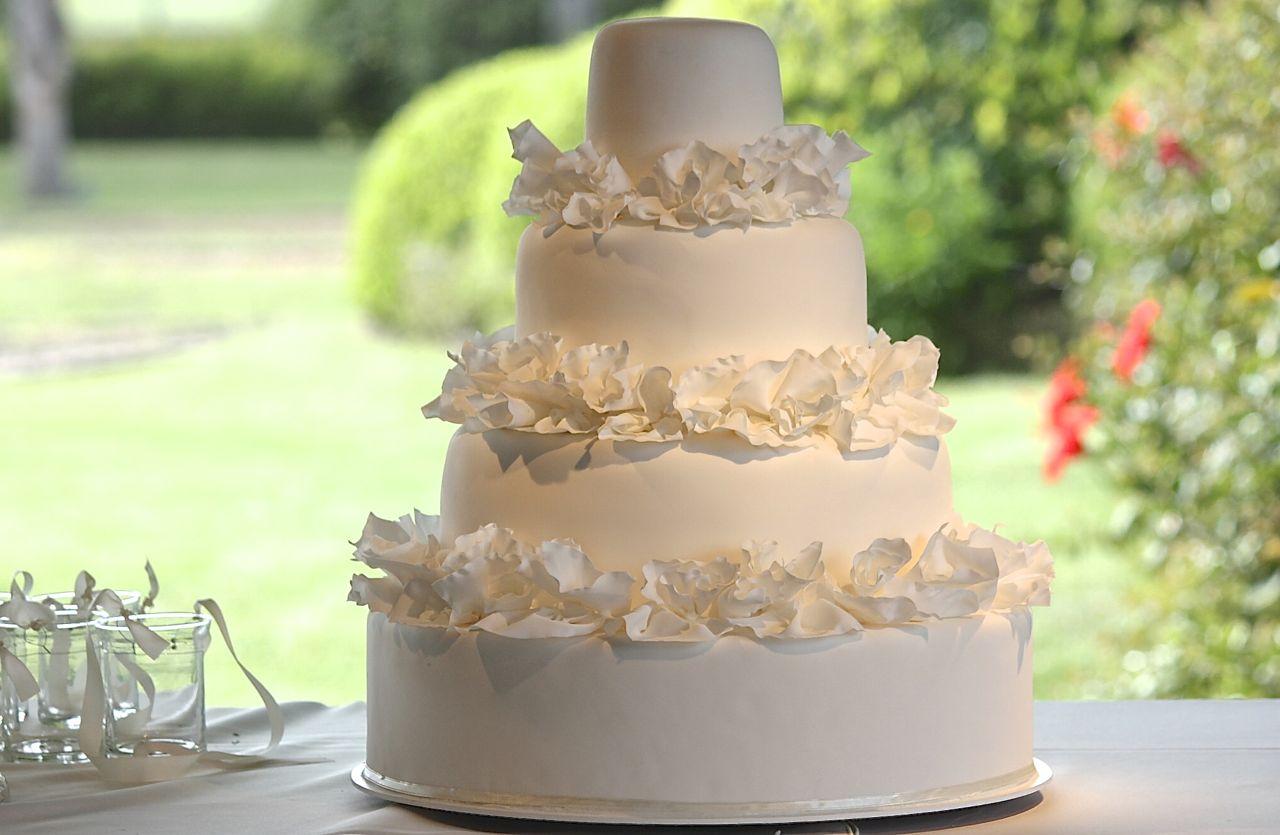 Torta de casamiento La novia 2
