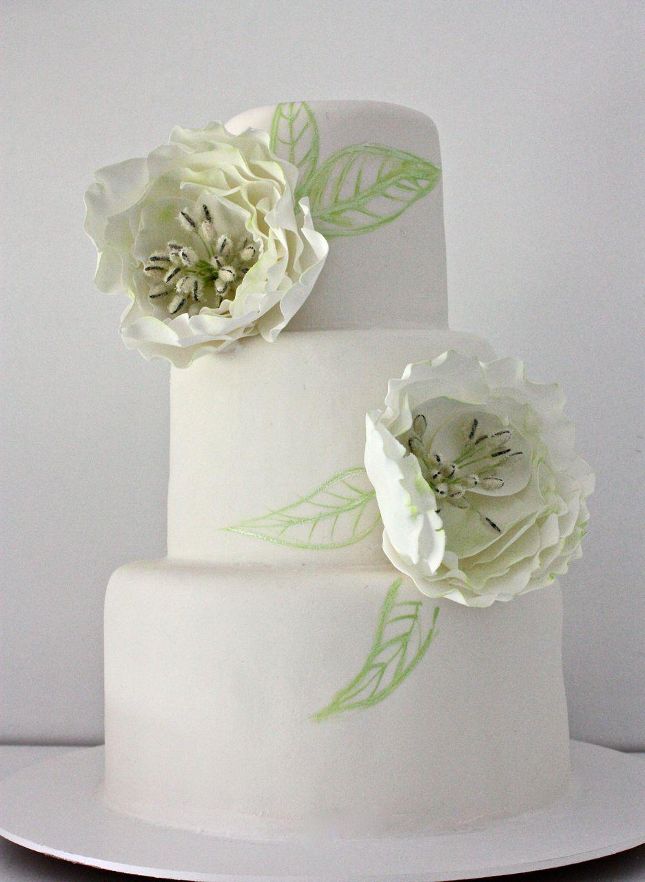 Torat de bodas con flores de verano