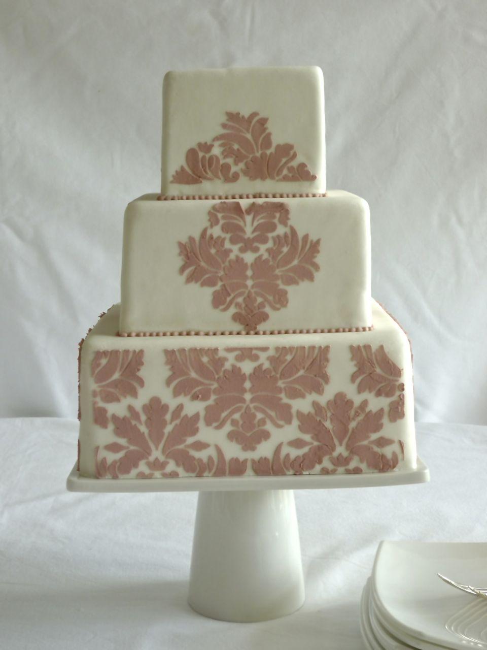 Torta de bodas pink versalles
