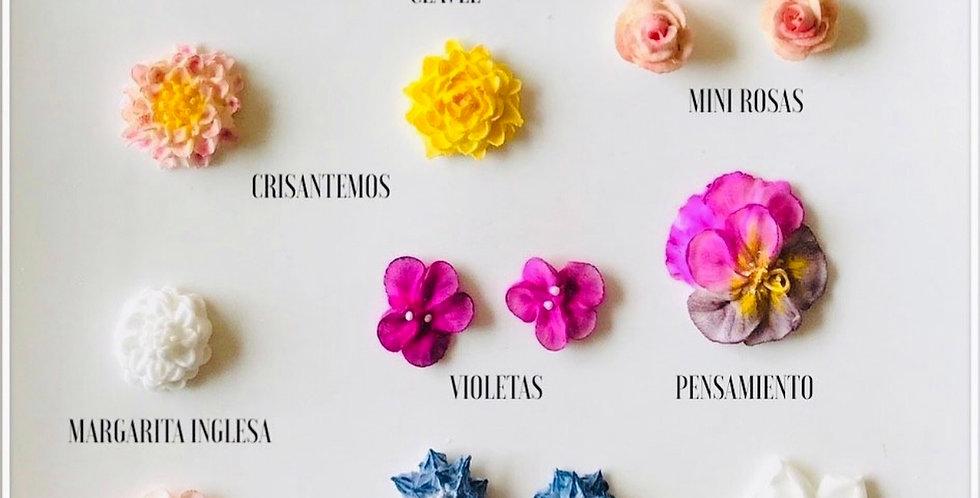 Curso Online Flores decoradas con manga