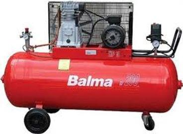 Balma piston compressor