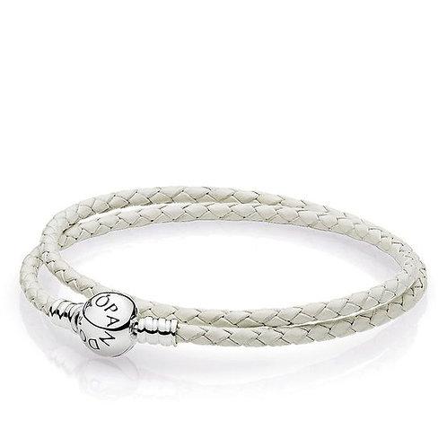 Pandora Double White Bracelet
