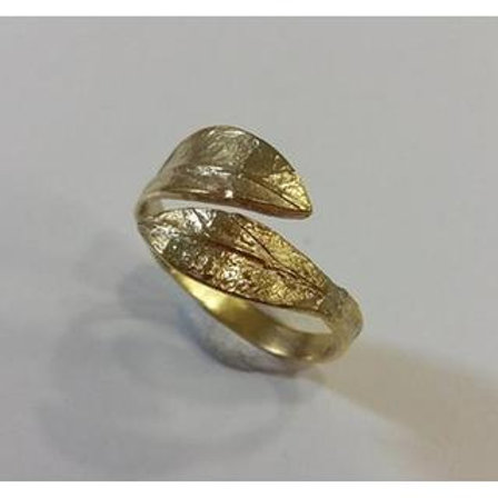 Olive Branch RIng 14ck Gold