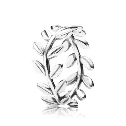 Pandora Olive Branch  Laurel Wreath Ring