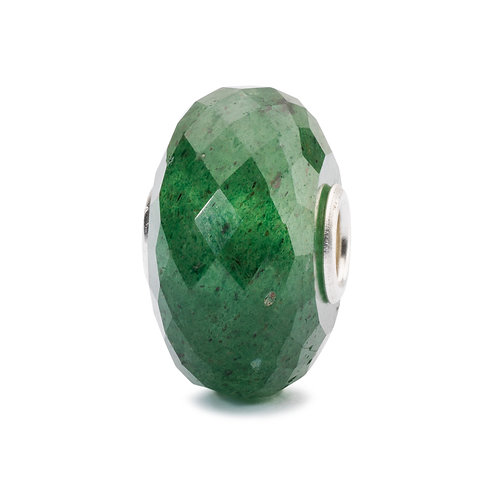 TROLLBEADS Green Aventurine D