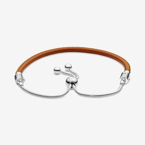 Pandora Unforgettable Moments  Leather Bracelet
