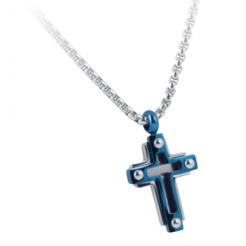 Rosso Amante  Stainless Steel  GENTS'  CROSS