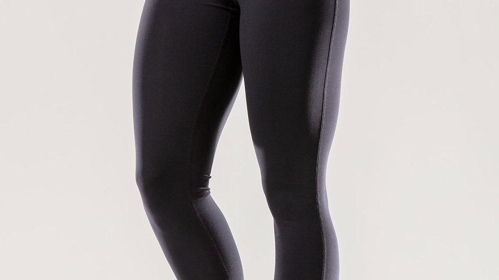 Puissante High-Waisted Full-Length Black Leggings