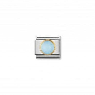 Nomination COMPOSABLE CLASSIC LINK DECEMBER  ROUND BIRTHSTONE