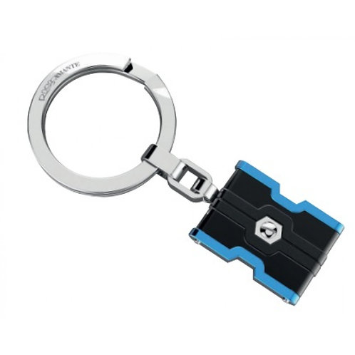 Rosso Amante  Stainless Steel Keyring