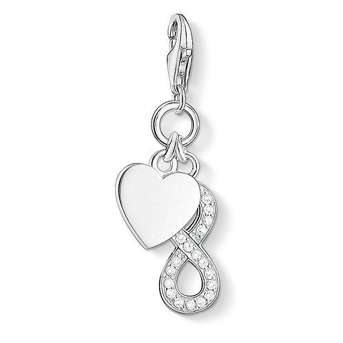 Thomas Sabo Charm Pendant Heart with Infinity