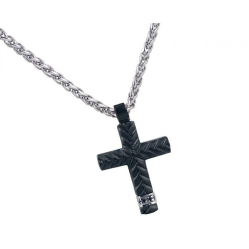 Rosso Amante  Stainless Steel CROSS