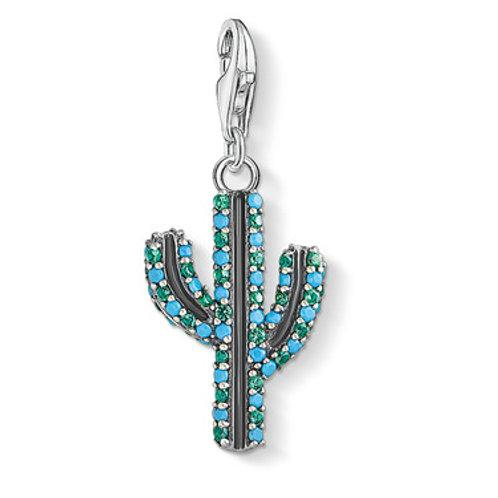 Thomas Sabo Charm Pendant Cactus Turquoise