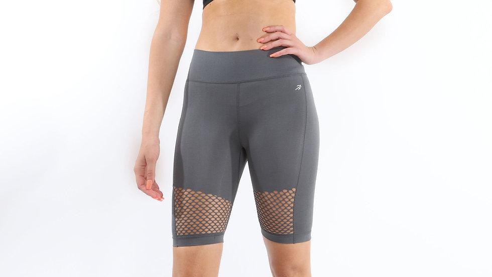 Malibu Seamless Activewear Shorts - Grey