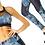 Thumbnail: Veloso Supplex Moisture-Resistant Fashion Leggings & Sports Bra Set