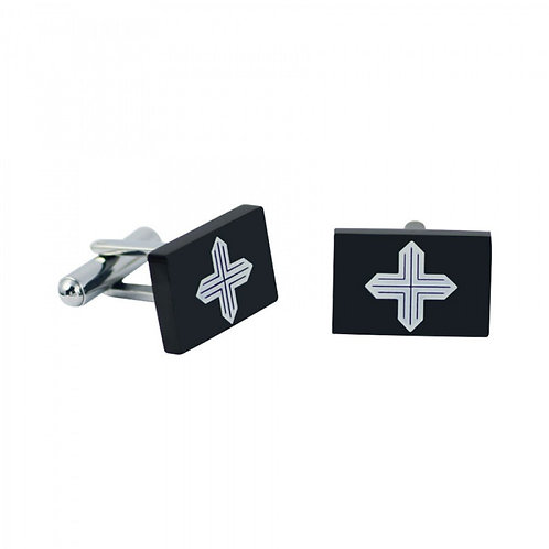 Rosso Amante  Stainless Steel  GENTS' Cufflinks