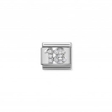 Nomination COMPOSABLE CLASSIC SILVER LINK NUMBER 18