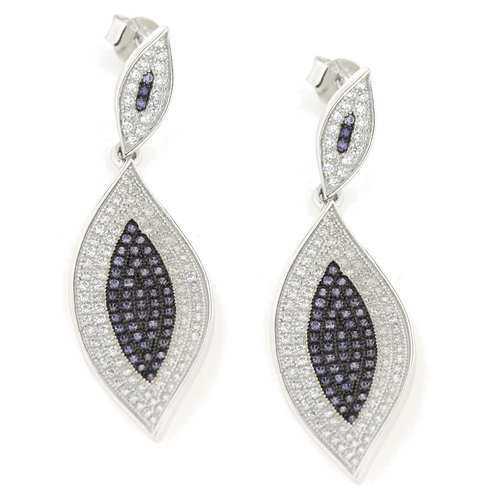 Verita True luxury Sterling Silver Earrings