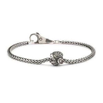 TROLLBEADS Silver Dandelion Bracelet