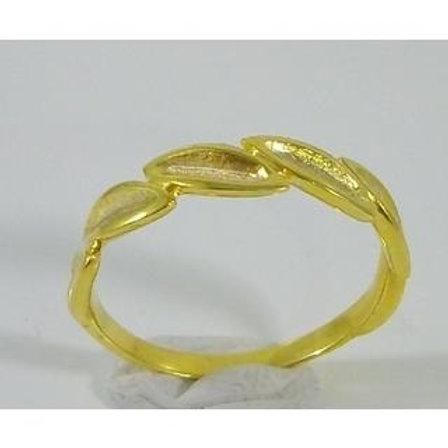 Olive Leaf Ring 14ck Gold