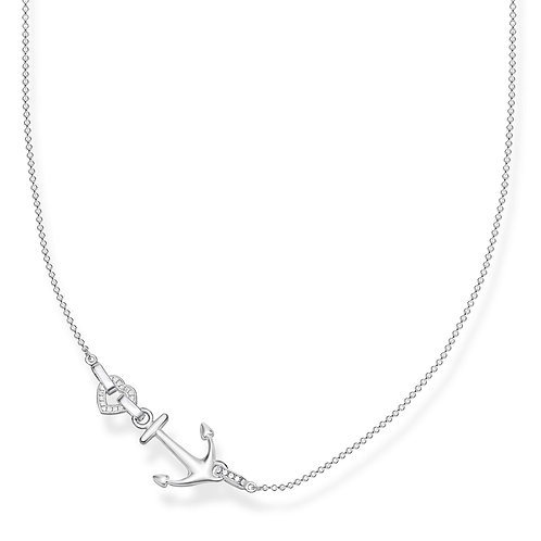Thomas Sabo Necklace ANCHOR with a HEART