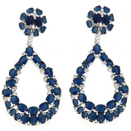 Verita True luxury Sterling Silver Earrings