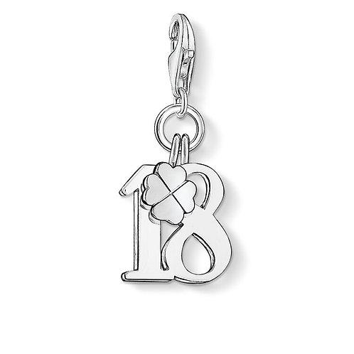 Thomas Sabo Charm Pendant Lucky number 18