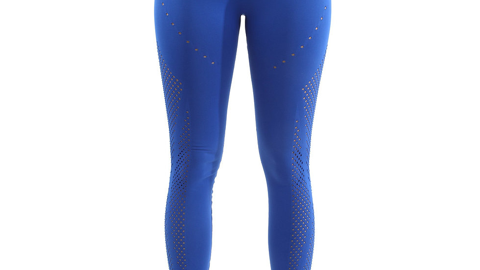 Milano Seamless Legging - Blue [MADE IN ITALY]