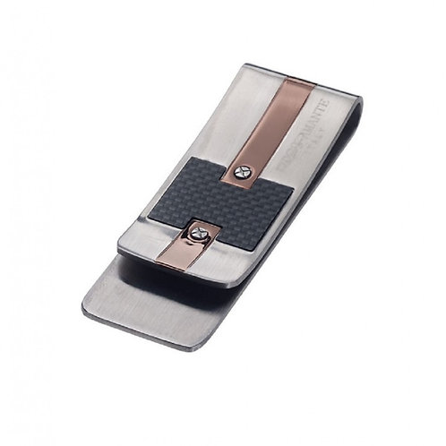 Rosso Amante  Stainless Steel Money Clip
