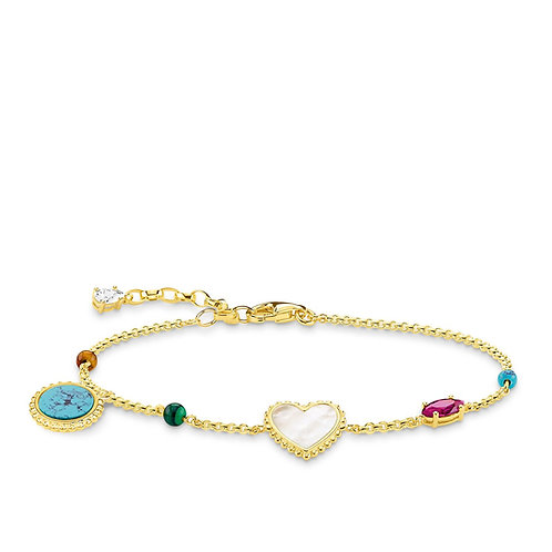 Thomas Sabo Bracelet Riviera colours