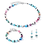 Thumbnail: COEUR DE LION GeoCUBE® Necklace multicolour fresh vintage