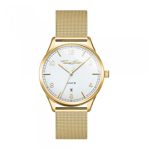 THOMAS SABO Women's Watch CODE TS SMALL YELLOW GOLD Stainless Steel