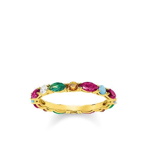 Thomas Sabo Ring Colourful Stones