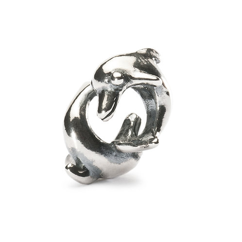 TROOLBEADS SILVER Playing Dolphins