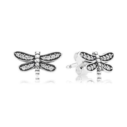 Pandora Dragonfly Earrings
