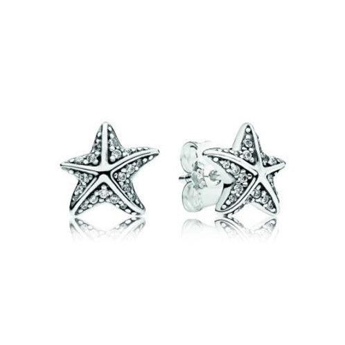 Pandora Tropical Starfish  Earrings