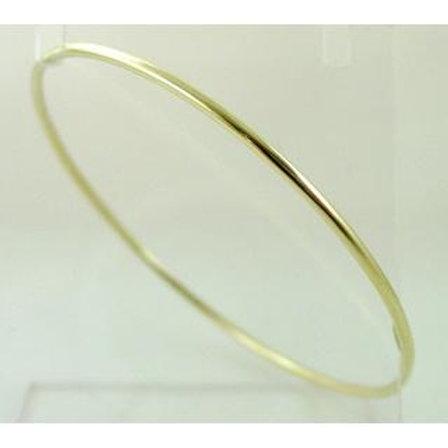 GOLD  BANGLE 14ck Yellow Gold