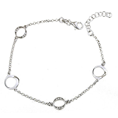 Verita True luxury Sterling Silver Bracelet
