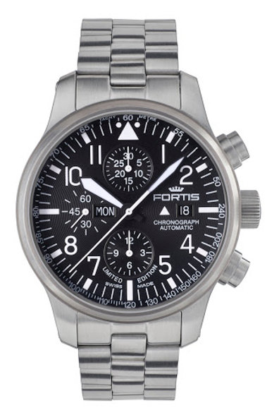 FORTIS AVIATIS F-43 STEALTH CHRONOGRAPH