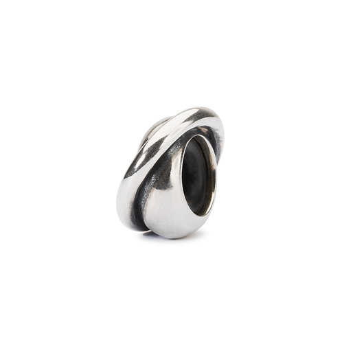 TROLLBEADS Silver String Spacer