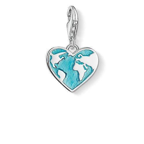 Thomas Sabo Charm Pendant Heart Globe