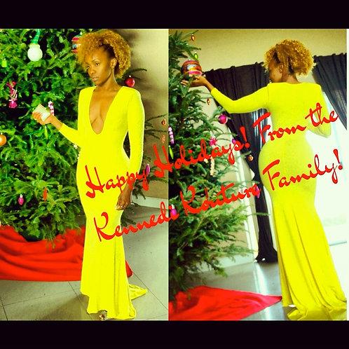 """SUNNY NIGHTS"" CUSTOM MERMAID DRESS"