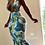"Thumbnail: ""THE PALMS"" CUSTOM DOUBLE STRAP MERMAID DRESS"