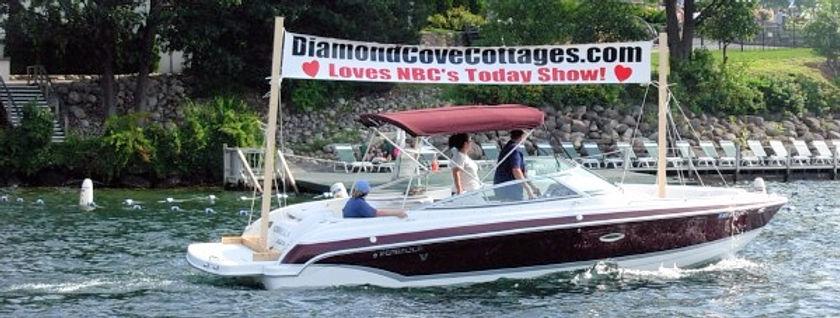 Lake George Diamond Cove Cottages, NY