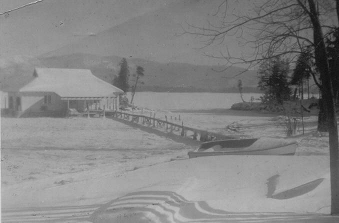 Undated winter scene
