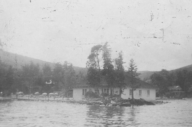 Undated picture of the Boathouse