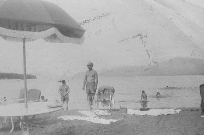 August 1956-Diamond Cove Beach