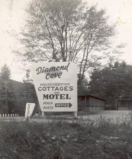 Old Sign September 1957